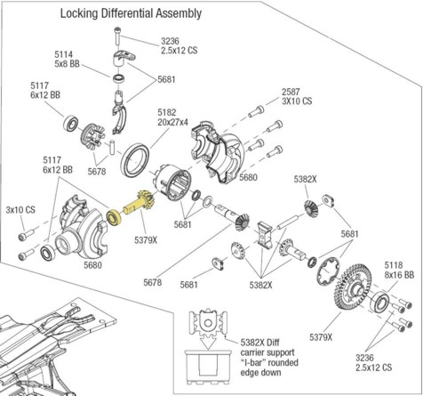 diff_draw_pin summit clicking noise?? somebody please help!!!! traxxas summit wiring diagram at soozxer.org
